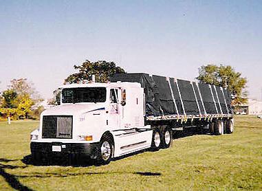 Flatbed Trailer Tarps Steel Tarps Lumber Tarps Lightweight Flatbed Tarps And Other Semi Tarps Carolina Tarps