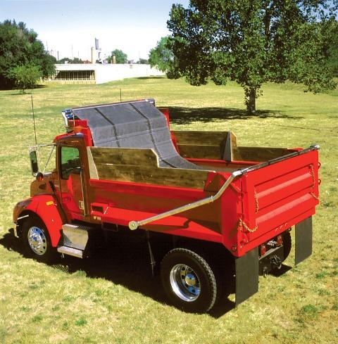 7 6 Quot X 18 Hot Top Rfl Asphalt Dump Truck Tarp