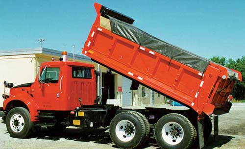 Hot Top Rfl Asphalt Tarps With Side And Tail Flaps