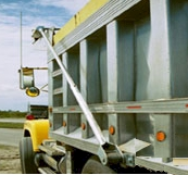 Electric dump truck tarp system for dump beds up to 23 for Dump truck electric tarp motors