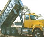 Manual Steel Dump Truck Tarp System, 4 Spring External Mount