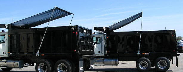 Dump truck tarp systems us tarp external mount for Tarp motors for dump trucks