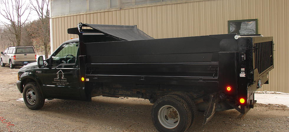 Manual Cab Level Crank Tarp System with Pull Bar and 1-1/2 Adjustable Hollow Axle (US Tarp 13484-A)